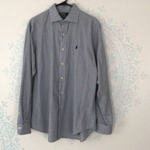 Polo by Ralph Lauren Plaid Button Down Shirt Sz L